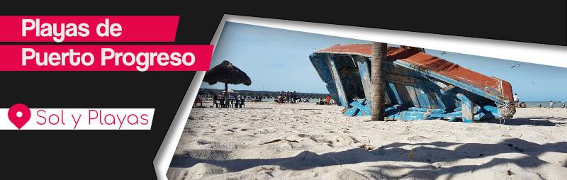 Playas de Puerto Progreso